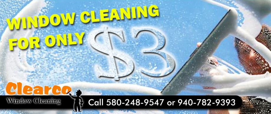 Window Cleaning for ONLY $3